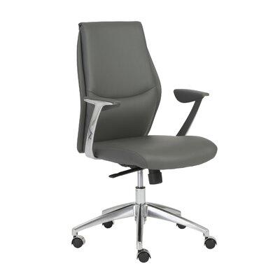 Wade Logan Waylon High-Back Leather Desk ..