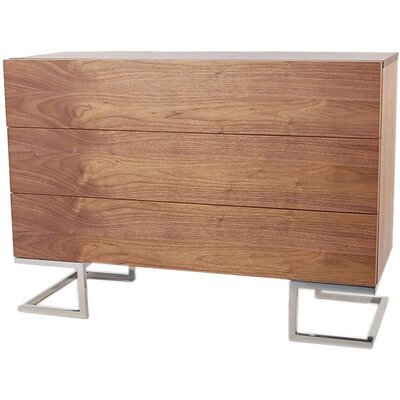 Wade Logan Domingo 3 Drawer Dresser
