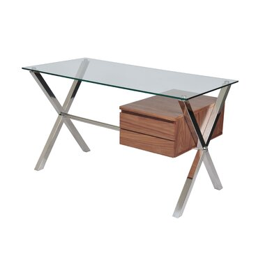 Wade Logan Emiliano 2 Drawer Writing Desk Image