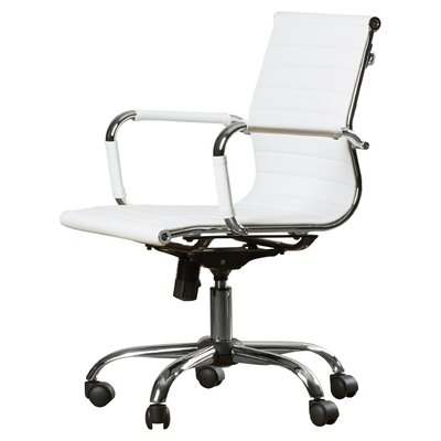 Wade Logan Alessandro Low-Back Office Chair with Casters