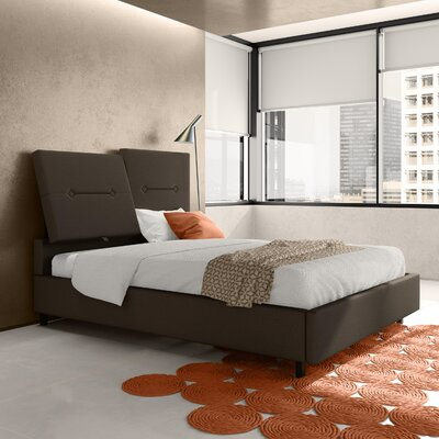 Wade Logan Cam Upholstered Platform Bed