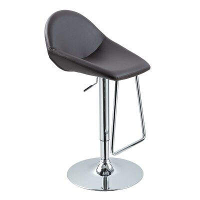 Wade Logan Belafonte  Adjustable Height Swivel Bar Stool