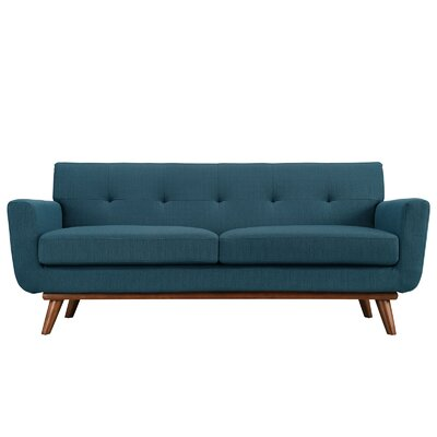 Corrigan Studio Saginaw Upholstered Loveseat