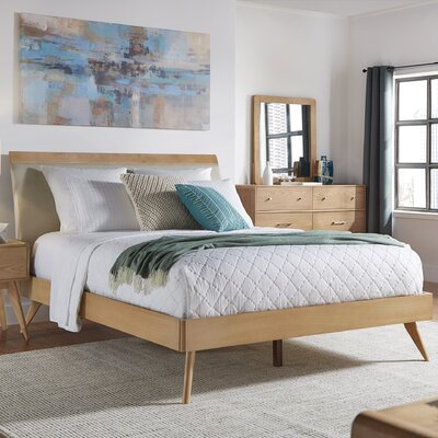 Corrigan Studio Grant Upholstered Platform Bed