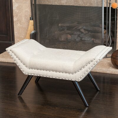 Langley Street Annaghmore Upholstered Ottoman