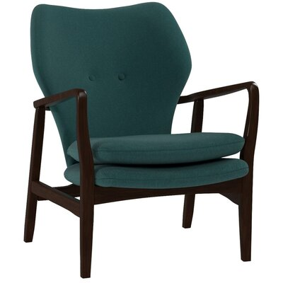Langley Street Ingels Wood Arm Chair