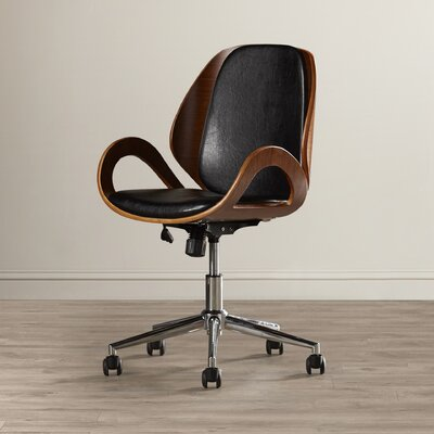 Langley Street Torito Mid-Back Conference Chair with Arms