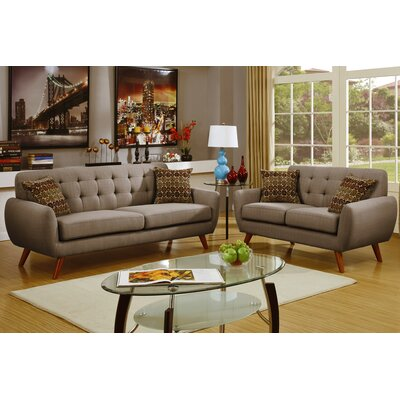 Langley Street Wooten 2 Piece Living Room Set U0026 Reviews | Wayfair Part 44