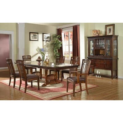 BestMasterFurniture Zion 7 Piece Extension Dining Set