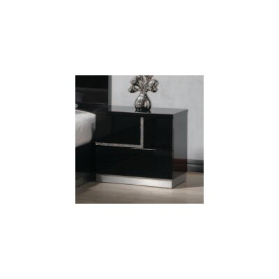 BestMasterFurniture Barcelona 2 Drawer Nightstand
