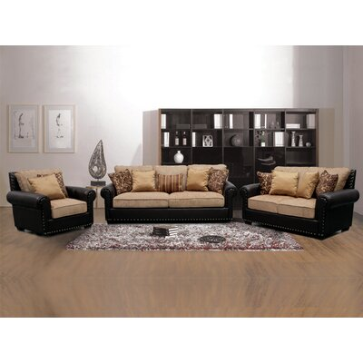 BestMasterFurniture 3 Piece Living Room Set