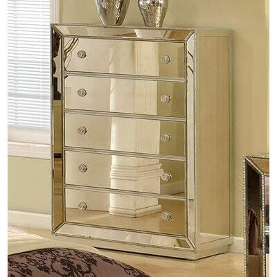 BestMasterFurniture 5 Drawer Bedroom Chest