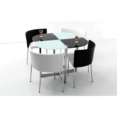 BestMasterFurniture 5 Piece Dining Set