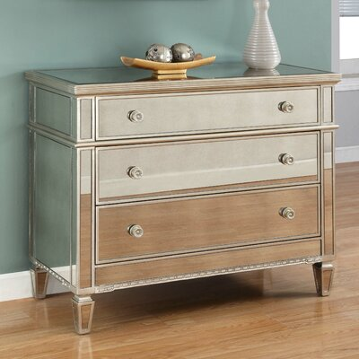 BestMasterFurniture 3 Drawer Dresser