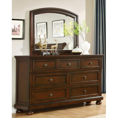 BestMasterFurniture 7 Drawer Dresser with Mirror