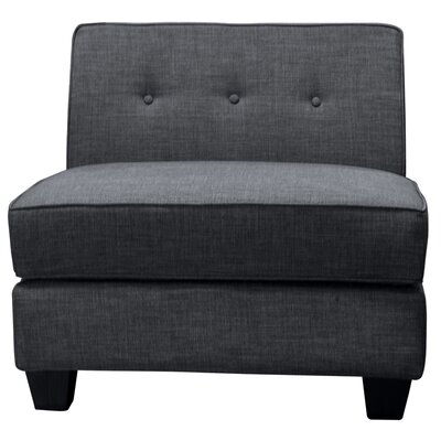 BestMasterFurniture Armless Slipper Chair