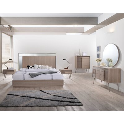 BestMasterFurniture Brazil Platform 5 Piece Bedroom Set