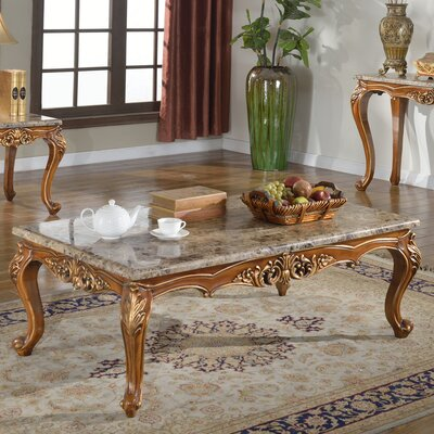 BestMasterFurniture Marble Coffee Table