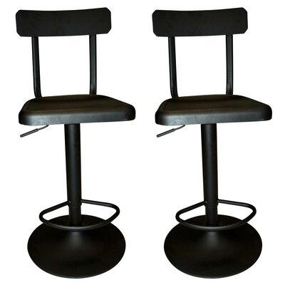 !nspire Adjustable Height Swivel Bar Stool (..