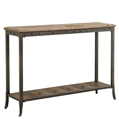 !nspire 2 Tier Rectangle Console Table