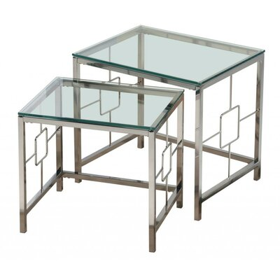 !nspire 2 Piece Nesting Table Set