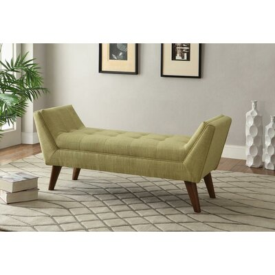 !nspire Linen Fabric Entryway Bench