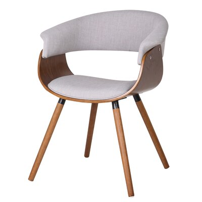 !nspire Bent Wood Accent Barrel Chair
