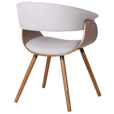 !nspire Bent Wood Accent Barrel Chair