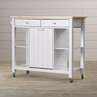 Lark Manor Rodemack Kitchen Island