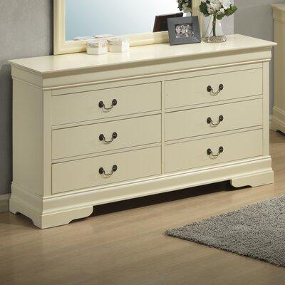 Lark Manor Corbeil 6 Drawer Dresser Image