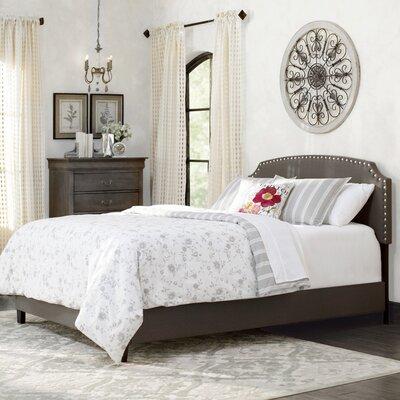 Lark Manor Antoine Upholstered Panel Bed
