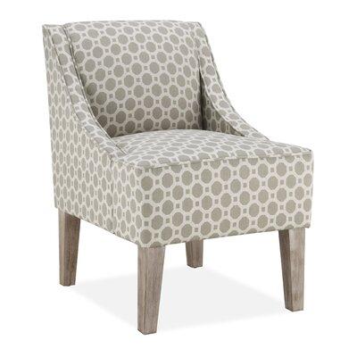 Lark Manor Tidiane Slipper Chair in Taupe