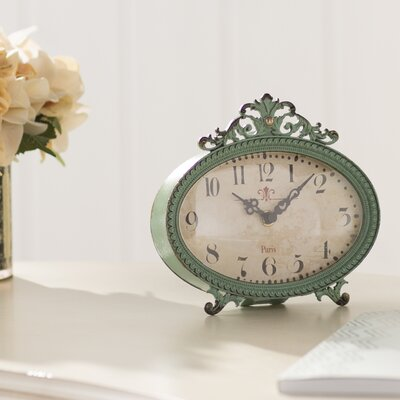 "Lark Manor 6.25"" Mantel Clock"