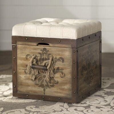 Lark Manor Bissonette Cube Ottoman