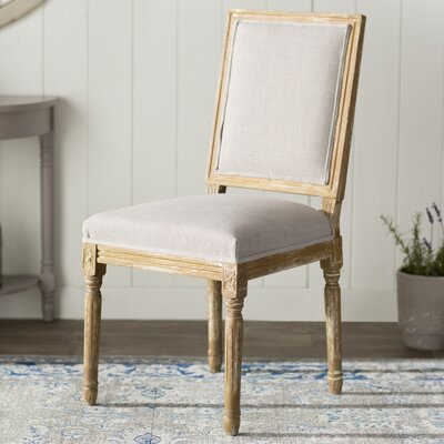 Lark Manor Hadrien Wood Traditional French Side Chair