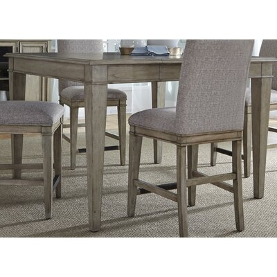 Lark Manor Maelys 5 Piece Counter Height Extendable Dining Table Set