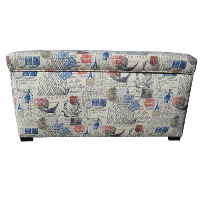 Lark Manor Pavot Upholstered Storage Bench