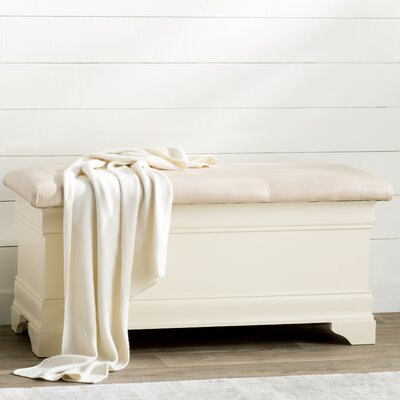 Lark Manor Corbeil Wood Storage Bench