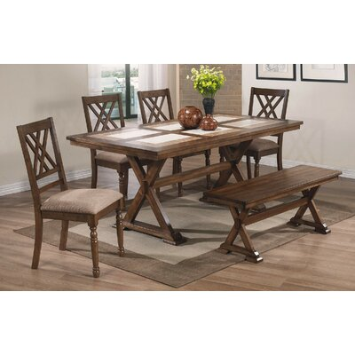 Lark Manor Florence 6 Piece Dining Set