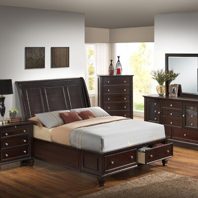 Lark Manor Isabella Upholstered Platform Bed