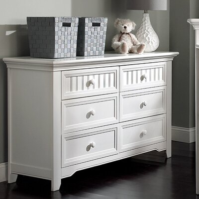 Suite Bebe Winchester 6 Drawer Double Dresser