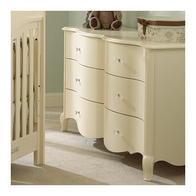 Suite Bebe Julia 6 Drawer Double Dresser