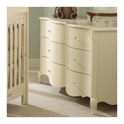 Suite Bebe Julia 6 Drawer Double Dresser