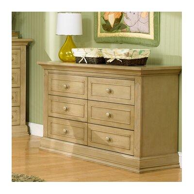 Suite Bebe Dakota 6 Drawer Double Dresser
