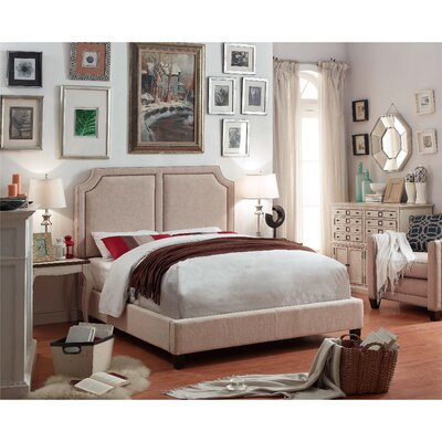 Mulhouse Furniture Sanibel Queen Upholstered Panel Bed