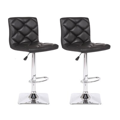 Container Adjustable Height Swivel Bar Stool (Se..