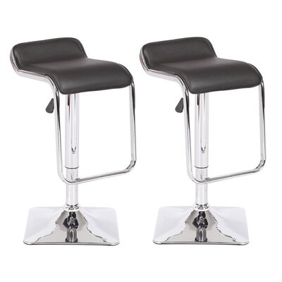 Container Adjustable Height Swivel Bar Stool (S..