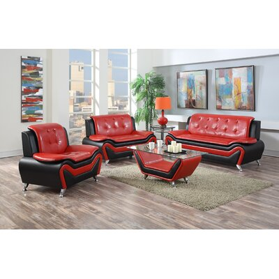 Container Wanda 4 Piece Living Room Set