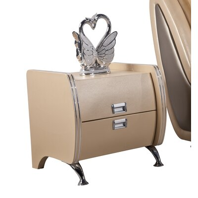 Container Victoria 2 Drawer Nightstand