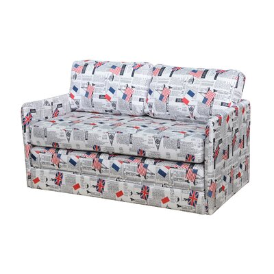 Container Kathy Reversible Foam Print Sleeper Sofa
